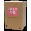 Rosé Rabelais - Vin rosé sec - IGP Hérault - Cave de Rabelais - Bag-in-Box® de 5 litres