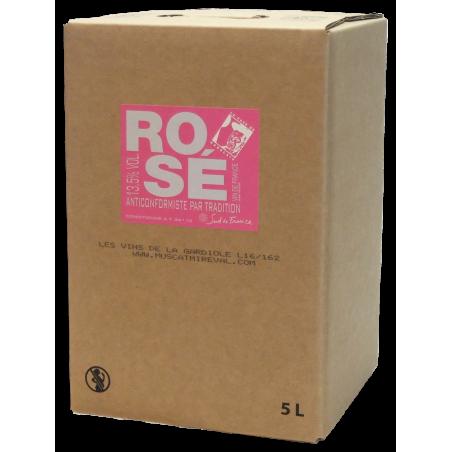 Vin de France Rosé BIB 5L -